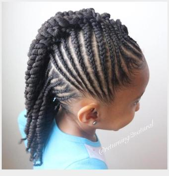 Braid Hairstyle For Kids screenshot 7