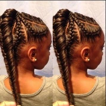 Braid Hairstyle For Kids screenshot 5