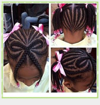 Braid Hairstyle For Kids screenshot 6