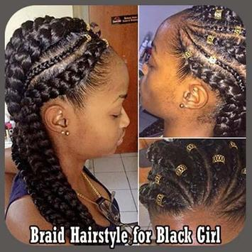 Braid Hairstyle for Black Girl poster
