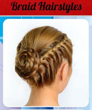 Braid Hairstyles screenshot 1