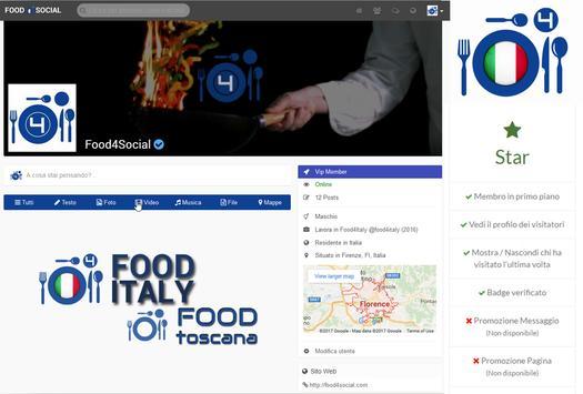 Food4Social The Social Network screenshot 1