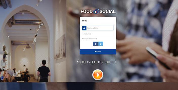 Food4Social The Social Network screenshot 3
