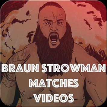 Braun Strowman Matches poster