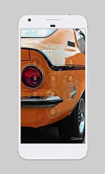 American Musclecar Power App Lock apk screenshot