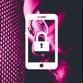 Cyberpunk Neon City People Hipster Night App Lock icon