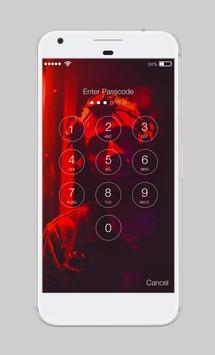Cyberpunk Neon City People Hipster Night App Lock apk screenshot