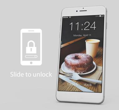 Donut Cookie Food Cute Lock Screen poster