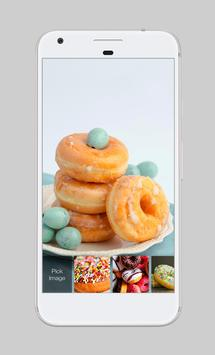 Donut Cookie Food Cute Lock Screen apk screenshot