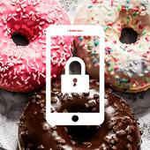 Sweet Donut Cute Omnomnom Lock Screen icon