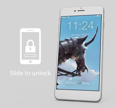 Unicorn Dark Art App Lock poster