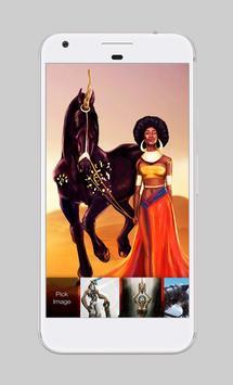 Unicorn Dark Art App Lock apk screenshot