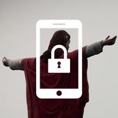 Jesus Christ Sky Shilouette Kindness App Lock icon