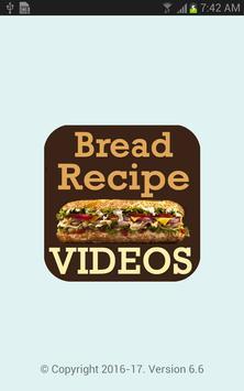 Bread Recipes VIDEOs poster
