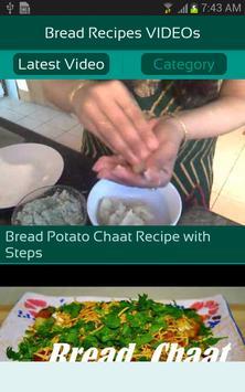 Bread Recipes VIDEOs apk screenshot