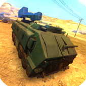 Military Vehicle Parking 3D icon