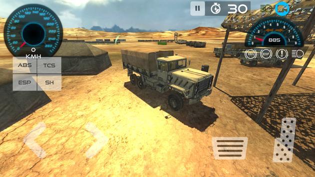 Military Vehicle Parking 3D screenshot 7