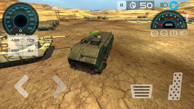 Military Vehicle Parking 3D apk screenshot
