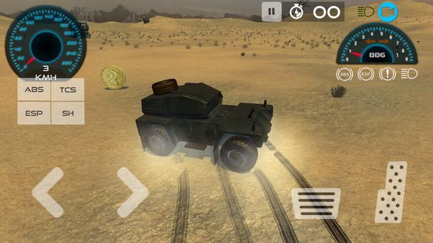 Army Vehicle Driving Simulator poster