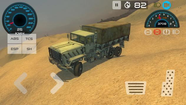 Army Vehicle Driving Simulator apk screenshot