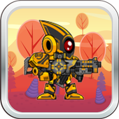 Yellow Robot Hero icon