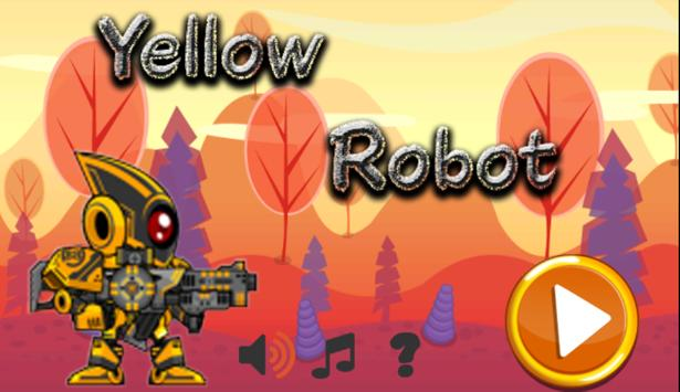 Yellow Robot Hero poster
