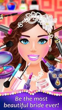 Wedding Spa Dress up Salon - Bridal Fashion Games screenshot 10