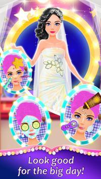 Wedding Spa Dress up Salon - Bridal Fashion Games screenshot 2