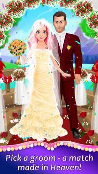 Wedding Spa Dress up Salon - Bridal Fashion Games screenshot 3