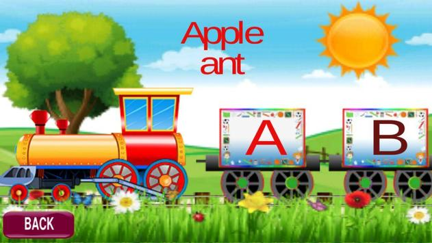 Kids Learning Train Fun For Toddlers PreSchool screenshot 2