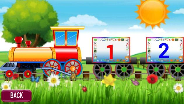 Kids Learning Train Fun For Toddlers PreSchool screenshot 5