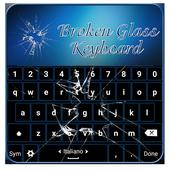 Broken Glass Keyboard icon
