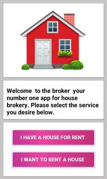 Broker App Uganda: Rent or find a house to rent screenshot 1
