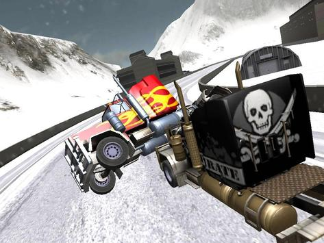 Snow Road Truckers 3D screenshot 3