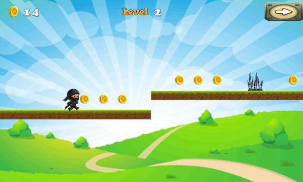 NinjaWarrior Adventure Game screenshot 3