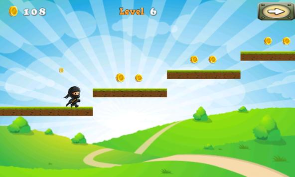NinjaWarrior Adventure Game screenshot 1