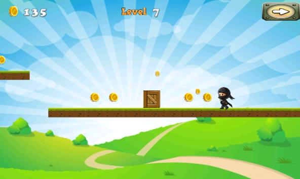 NinjaWarrior Adventure Game screenshot 2