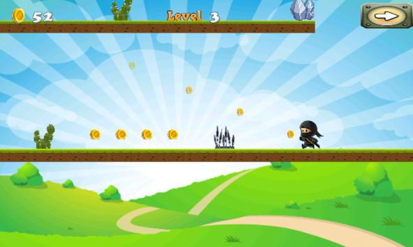 NinjaWarrior Adventure Game screenshot 6