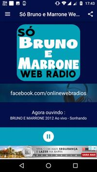 Bruno e Marrone Web Rádio screenshot 1