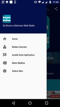 Bruno e Marrone Web Rádio screenshot 2
