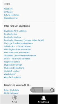 Brustkrebs News apk screenshot