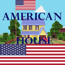 APK American Minecraft house ideas