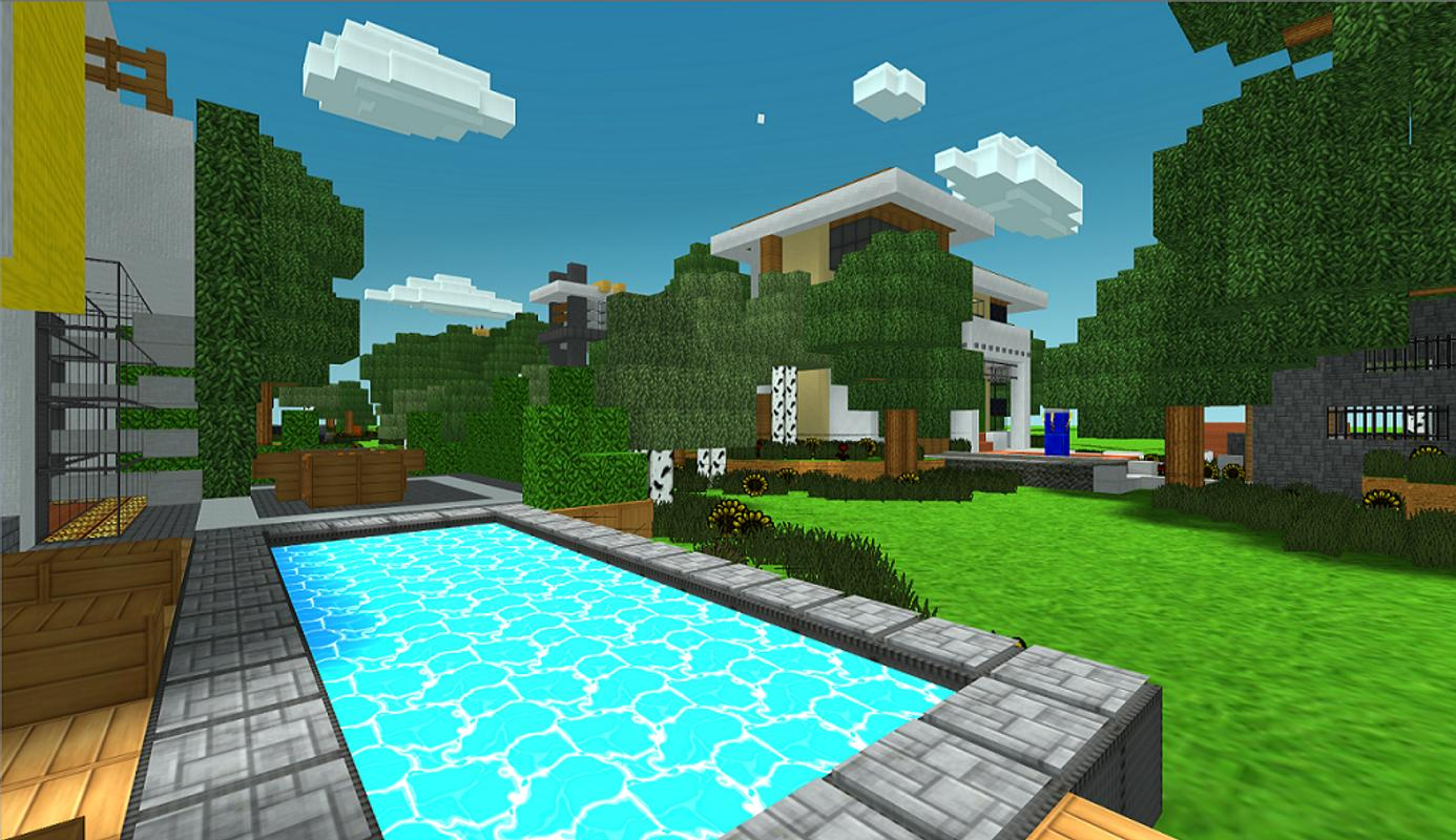 House Ideas: Amazing Build Ideas For Minecraft For Android