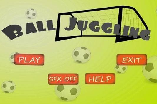 Soccer Ball Juggling screenshot 1