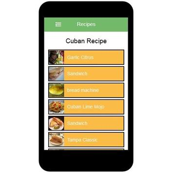 Cuban Recipes screenshot 1