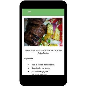 Cuban Recipes screenshot 2