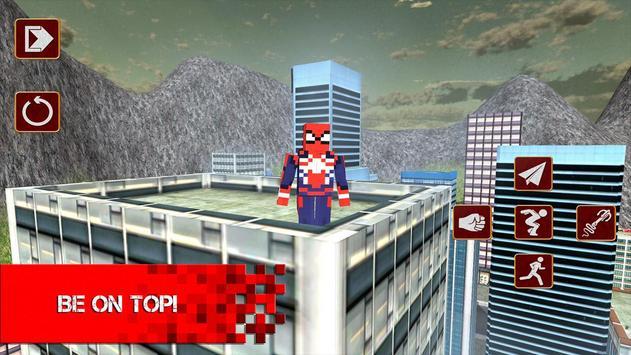 Cube Sipder Hero Mutant 3D screenshot 3