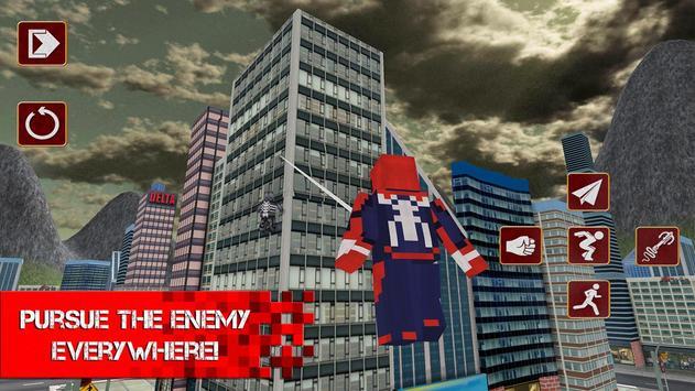 Cube Sipder Hero Mutant 3D screenshot 4