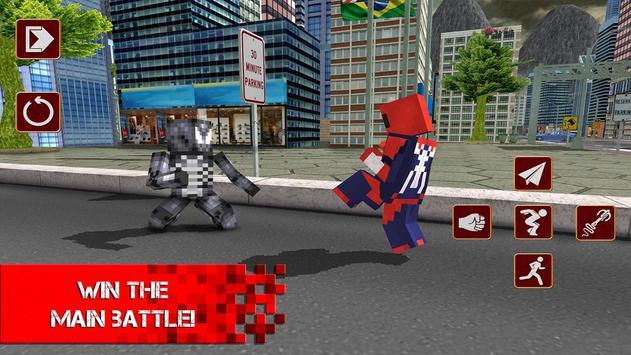 Cube Sipder Hero Mutant 3D screenshot 5