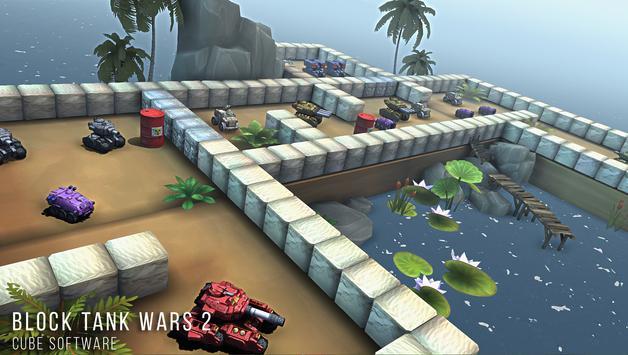 Block Tank Wars 2 Premium スクリーンショット 1